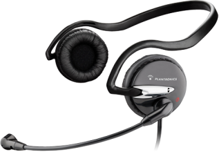 Слушалки с микрофон Plantronics Audio 345