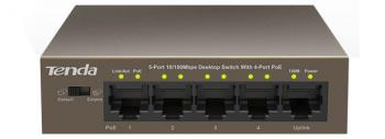 Switch Tenda TEF1105P-4-63W 5-port 10/100Mbps unmanaged switch