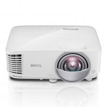 Проектор BenQ MW809ST Short Throw, DLP, WXGA(1280x800), 3000 ANSI Lumens, Бял