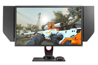 "Геймърски монитор BenQ Zowie XL2546, 24.5"", 240Hz, 1ms, DyAc Technology (9H.LG9LB.QBE)"