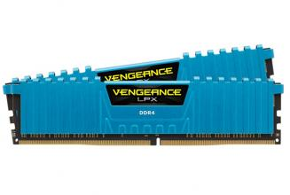 Corsair Vengeance® LPX 16GB (2x8GB) DDR4 DRAM 3000MHz C15 Kit - Blue