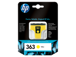 HP 363 Yellow-oригинален C8773EE