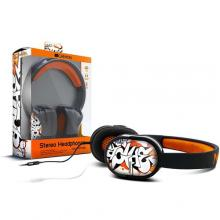 CANYON grafitti headset CNL-HP03B + mic BLACK