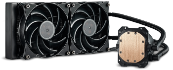 Водно охлаждане Cooler Master MasterLiquid Lite 240 AMD/Intel (CM-FAN-MLW-D24M-A20PW-RM1)
