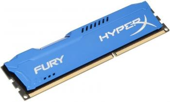 Kingston 8GB DDR3 1600MHz CL10 HyperX FURY Blue