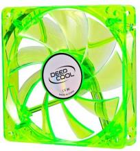 Вентилатор Fan 120mm Green LED Xfan 120U G/B - 1300rpm, DP-FLED-XF120GB
