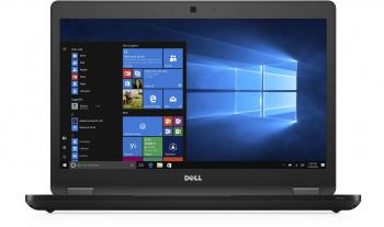 "Dell Latitude E5480 14.0"" HD, i5-7200U, 4GB RAM, 500GB HDD, Черен (N032L548014EMEA_UBU)"