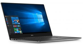 "DELL XPS 15 9560 15.6"" IPS 4K UHD touch, i7-7700HQ, RAM 16GB, 512GB SSD,GTX 1050, Windows 10, Сребрист"