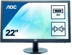 "AOC E2275SWJ, 21.5"" TN LED, Full HD"