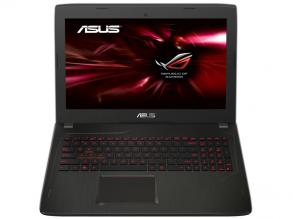 ASUS FX502VM-DM105T, 15.6'' FHD, i7-6700HQ, 8GB DDR4, 1TB HDD, GTX 1060, Win 10, Черен