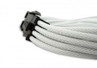 GELID 8pin Power extension cable 30cm individually sleeved UV White