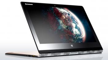 "Ултрабук Lenovo Yoga 3 Pro 13.3"" IPS Touch QHD+(80HE015WBM), Intel M-5Y71 Dual-Core, 8GB RAM, 512GB SSD, Windows 10, Златист"