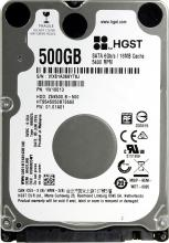 "Твърд диск Hitachi 500GB 2.5"" SATA3 (HTS545050B7E660)"