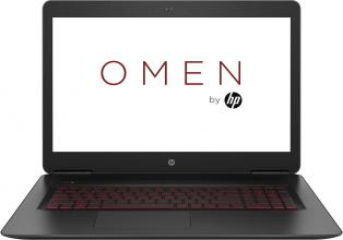 "HP Omen 17-w103nu 17.3"" FHD, i7-6700HQ, 16GB RAM, 256GB SSD + 1TB HDD, GTX 1070, 8GB, Win 10, Черен (Z3F31EA)"