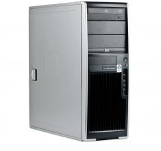 Четириядрен  HP xw4600 Q6600 2.46Ghz, 4GB DDR2, 250 HDD, FX 3500 256MB Tower