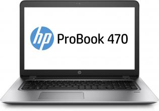"HP ProBook 470 G4 17.3"" FHD, Intel Core i5-7200U, 8GB DDR4, 256GB SSD, GF 930MX, Win 10 Pro, Сребрист"