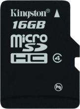Карта памет Kingston 16GB, SDMICRO, Class 4