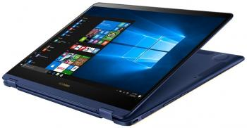 "UPGRADED ASUS ZenBook Flip S UX370UA-C4058T, 13.3"" FHD, i5-7200U, 8GB RAM, 256GB SSD, 1TB HDD, Win 10, Син"