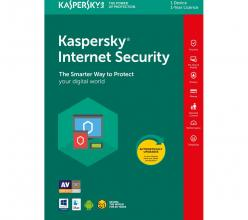 Kaspersky Internet Security (Multi-Device, 1-Device, 1 year Renewal Box) (KL1941X5AFR-8MSBRBSEE)