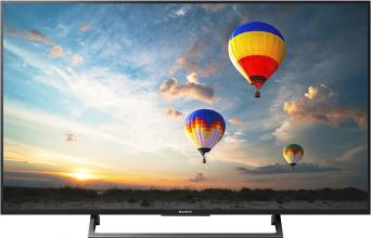 "Телевизор Sony Bravia KD-55XE8096 55"", 4К X-Reality PRO, XR 400Hz, Android TV, Сребрист (KD55XE8096BAEP)"