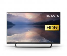 "Телевизор Sony Bravia KDL-32RE400 32"", HD Ready TV, Processor X-Reality PRO, Черен"