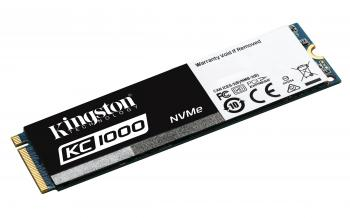 SSD диск 480GB Kingston KC1000 NVMe M.2 2280 (KIN-SSD-SKC1000/480G)