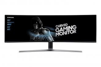 "Samsung C49HG90D Curved 48.9"" LED,
