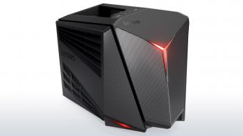 "Геймърски компютър Lenovo IdeaCentre Y720 Cube (Intel Core i7-7700  4.2GHz, 16GB DDR4, 1TB HDD, 128GB SSD 2.5"", GTX 1070 8GB) (90H2005LRM)"