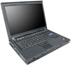 "Lenovo ThinkPad R61 15.4"", 1280x800, T8100, 2GB RAM, 80GB HDD, No cam"