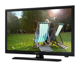 "Samsung T24E310X 23.6"" LED, HD (1366x768), TV Tuner, Черен"