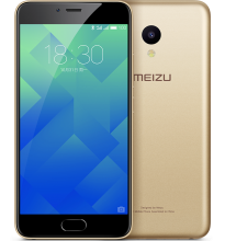 "Meizu M5 5.2"" HD, 32GB, 3G/4G, Златист"