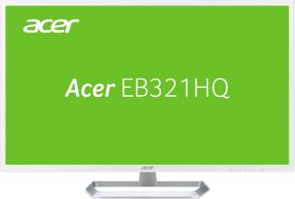 "Acer EB321HQwd, 31.5"" IPS, FHD 1920x1080, 4ms, Бял (UM.JE1EE.005)"