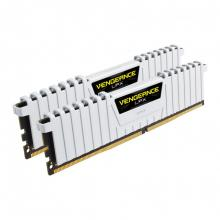 Corsair Vengeance® LPX 16GB (2x8GB) DDR4 DRAM 3000MHz C15 Kit - White