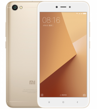 "Xiaomi Redmi Note 5А 5.5"" HD (1280 x 720), 16GB, Dual SIM, Златист"
