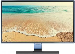 "Монитор Samsung T24E390, 23.6"" LED, FHD (1920 x 1080), TV тунер, Черен"