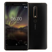 "Nokia 6 (6.1) 5.5"" FHD (1080 x 1920), (2018), 32 GB, Single SIM, Черен"