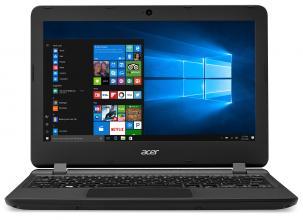 "Acer Aspire ES1-132 11.6"" HD, Intel Celeron N3450, 2GB RAM, 32GB eMMC, MS Windows 10, Черен (NX.GGLEX.013)"
