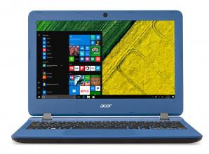 "Acer Aspire ES1-132 11.6"" HD, Intel Celeron N3450, 2GB RAM, 32GB eMMC, MS Windows 10, Син (NX.GHLEX.003)"