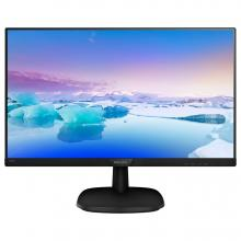 "Philips 223V7QHAB, 21.5"" Ultra Narrow Wide IPS W-LED, Full HD 1920 x 1080, 5 ms, Черен"