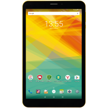 "Таблет Prestigio Wize 3418 4G, 8""(800x1280)IPS, Single SIM, 8GB, Жълт"