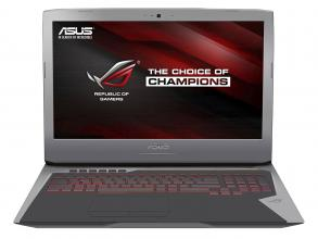 "ASUS ROG G752VS-GC063T 17.3"" FHD IPS, i7-6700HQ, 16GB RAM, 1TB HDD, GTX 1070, Win 10, Сив"