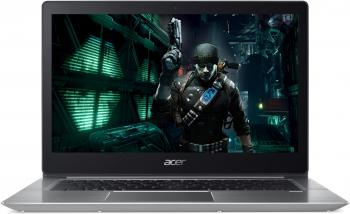 "Acer Aspire Swift 3 SF314-52G-55DA (NX.GQNEX.006) 14.0"" FHD, i5-7200U, 8GB RAM, 256GB SSD, GF MX150 2GB, Win 10, Сребрист"