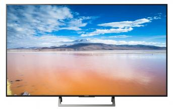 "Телевизор Sony KD-65XE8596 BRAVIA 65"" 4K TV HDR BRAVIA, Edge LED, Processor 4K HDR X1, Triluminos, Android TV 6.0, Черен (KD65XE8596BAEP)"