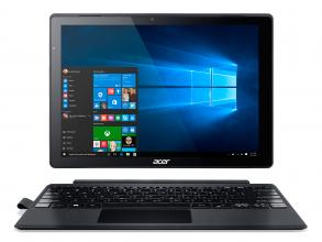 "Таблет Acer Switch Alpha 12 SA5-271-50DQ, 12"" IPS, WQHD (2160 x 1440), i5-6200U, RAM 4GB , 256GB SSD, Win 10, Черен"