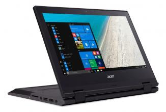"Acer TravelMate B118 (NX.VG0EK.002) 11.6"" IPS FHD, Celeron N3450, RAM 4GB, 64GB eMMC, Windows 10 Pro, Черен"