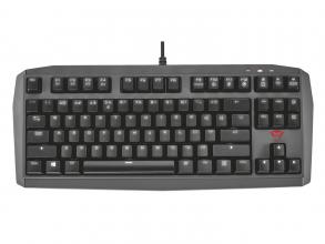 Геймърска клавиатура TRUST GXT 870 Mechanical TKL, Черна (21289)