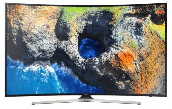 "Телевизор Samsung 49"" 49MU6272 4K CURVED 4K UHD (3840x2160), HDR, SMART TV, Черен"