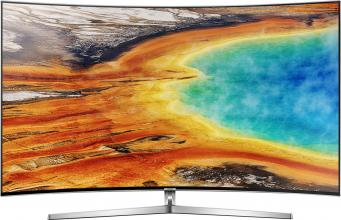 "Телевизор Samsung 55"" 55MU9002 CURVED LED TV, 4K 3840x2160, Сребрист"