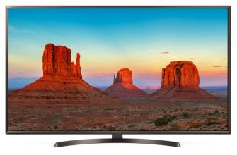 "Телевизор LG 43UK6400PLF, 43"" 4K HDR UHD (3840x2160), Smart webOS 4.0, Кафяв"
