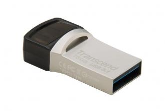 USB флаш памет Transcend 16GB JETFLASH 890S, сребриста